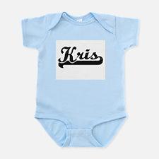 Kris Classic Retro Name Design Body Suit