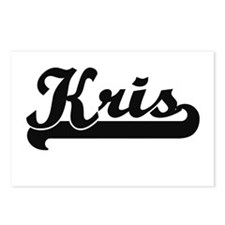 Kris Classic Retro Name D Postcards (Package of 8)