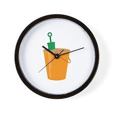 Sandbox Bucket Wall Clock