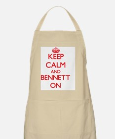 Keep Calm and Bennett ON Apron
