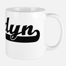 Landyn Classic Retro Name Design Mug