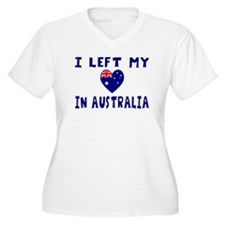 I left my heart in Australia T-Shirt