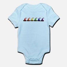 Rainbow Kisses Infant Bodysuit