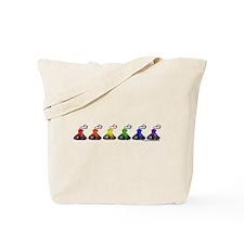 Rainbow Kisses Tote Bag