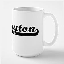 Layton Classic Retro Name Design Mugs
