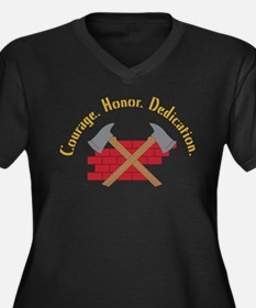 Crossed Fire Axes Plus Size T-Shirt