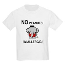 NO PEANUTS I'M ALLERGIC T-Shirt