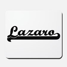 Lazaro Classic Retro Name Design Mousepad