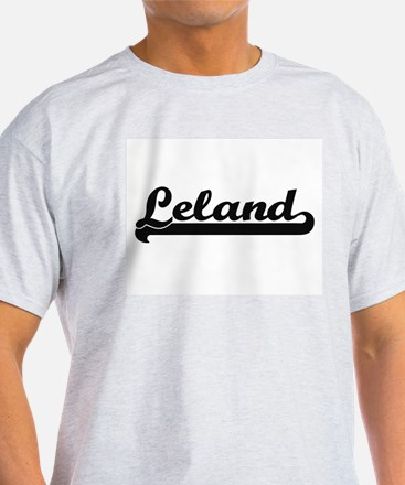 Leland Classic Retro Name Design T-Shirt