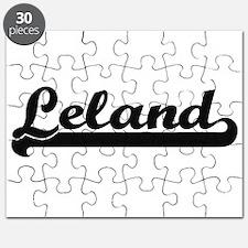 Leland Classic Retro Name Design Puzzle