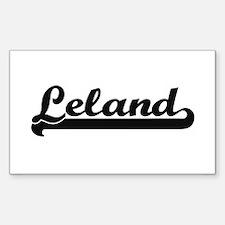 Leland Classic Retro Name Design Decal