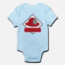 Fire Hat Decal Body Suit