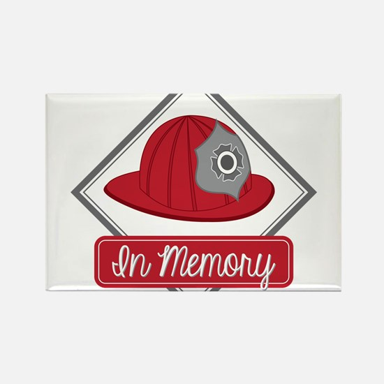Fire Hat Decal Magnets