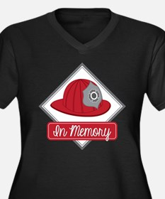 Fire Hat Decal Plus Size T-Shirt