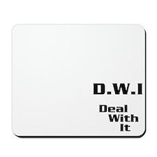 DWI Logo Mousepad