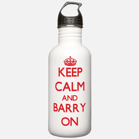 Keep Calm and Barry ON Water Bottle