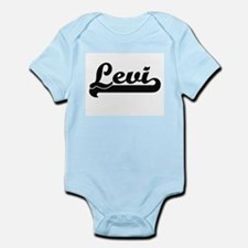 Levi Classic Retro Name Design Body Suit