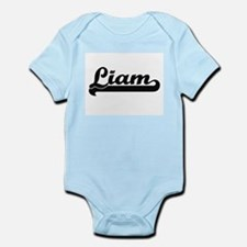Liam Classic Retro Name Design Body Suit