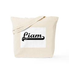 Liam Classic Retro Name Design Tote Bag
