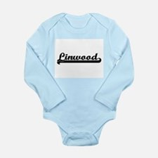 Linwood Classic Retro Name Design Body Suit
