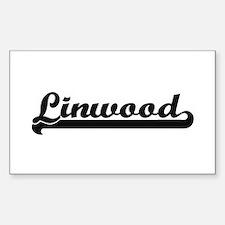Linwood Classic Retro Name Design Decal