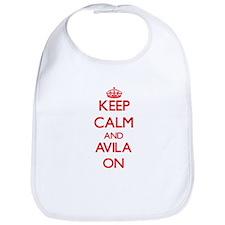 Keep Calm and Avila ON Bib