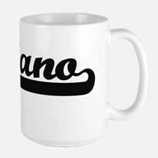 Luciano Classic Retro Name Design Mugs