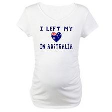 Left Heart In Australia 2 Shirt