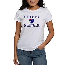 Left Heart In Australia 2 Tee