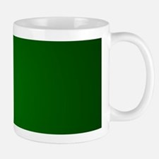 Hunter Green gradient Mugs