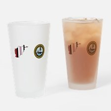 Uss Theodore Roosevelt Cvn 71 - Oef Drinking Glass
