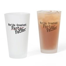 Cute Fathers day Drinking Glass