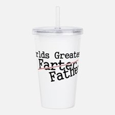 Cute Fathers day Acrylic Double-wall Tumbler