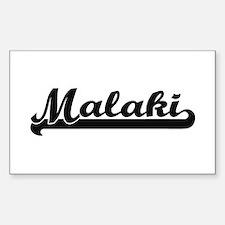 Malaki Classic Retro Name Design Decal