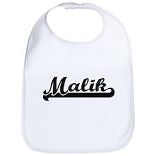 Malik Classic Retro Name Design Bib