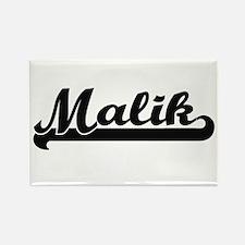 Malik Classic Retro Name Design Magnets