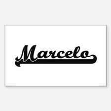 Marcelo Classic Retro Name Design Decal