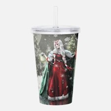 Unique Yule Acrylic Double-wall Tumbler
