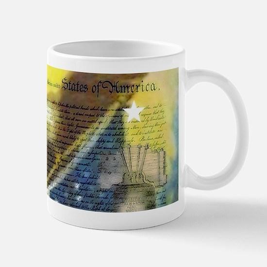 Vintage patriotic theme Mugs