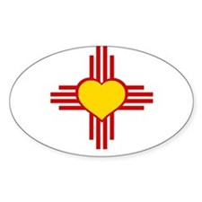 Cute New mexico t Decal
