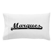 Marques Classic Retro Name Design Pillow Case