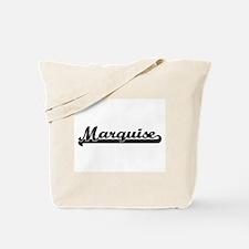 Marquise Classic Retro Name Design Tote Bag