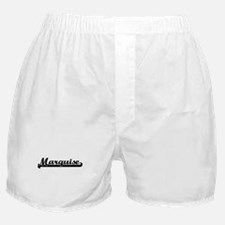 Marquise Classic Retro Name Design Boxer Shorts