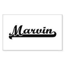 Marvin Classic Retro Name Design Decal