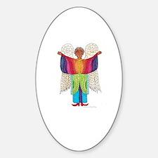 Rainbow Angel Decal