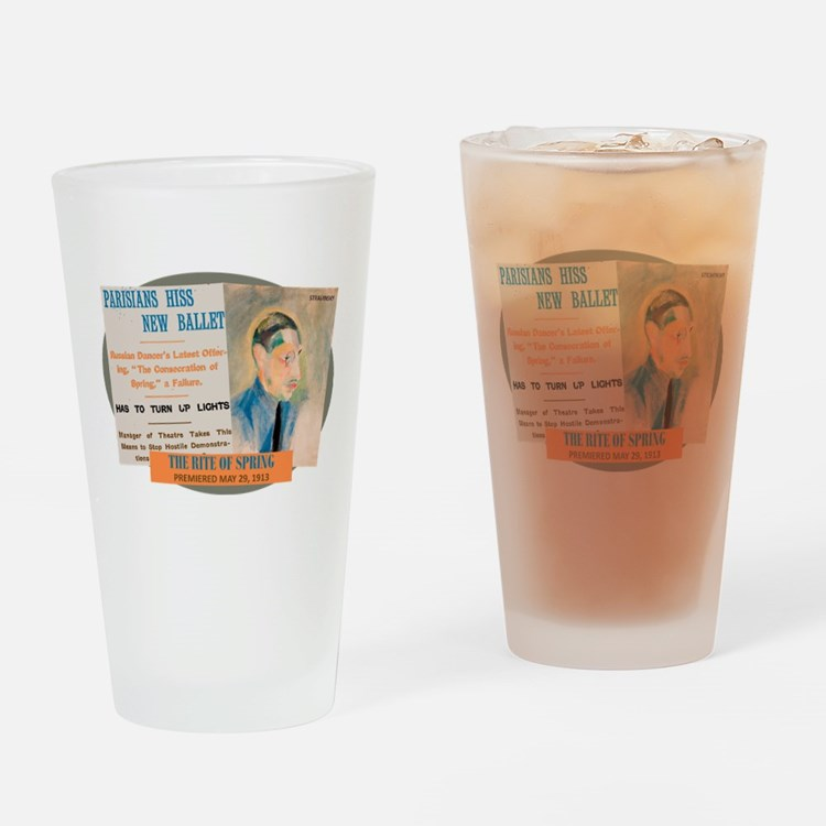 The Rite of Spring Drinking Glass