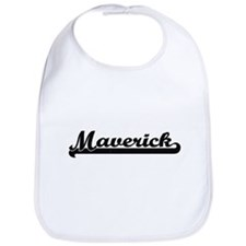 Maverick Classic Retro Name Design Bib