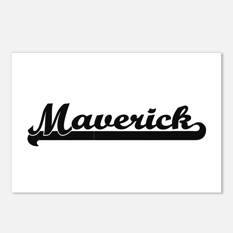 Maverick Classic Retro Na Postcards (Package of 8)