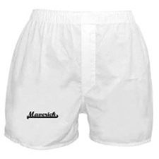Maverick Classic Retro Name Design Boxer Shorts