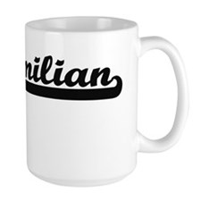 Maximilian Classic Retro Name Design Mugs
